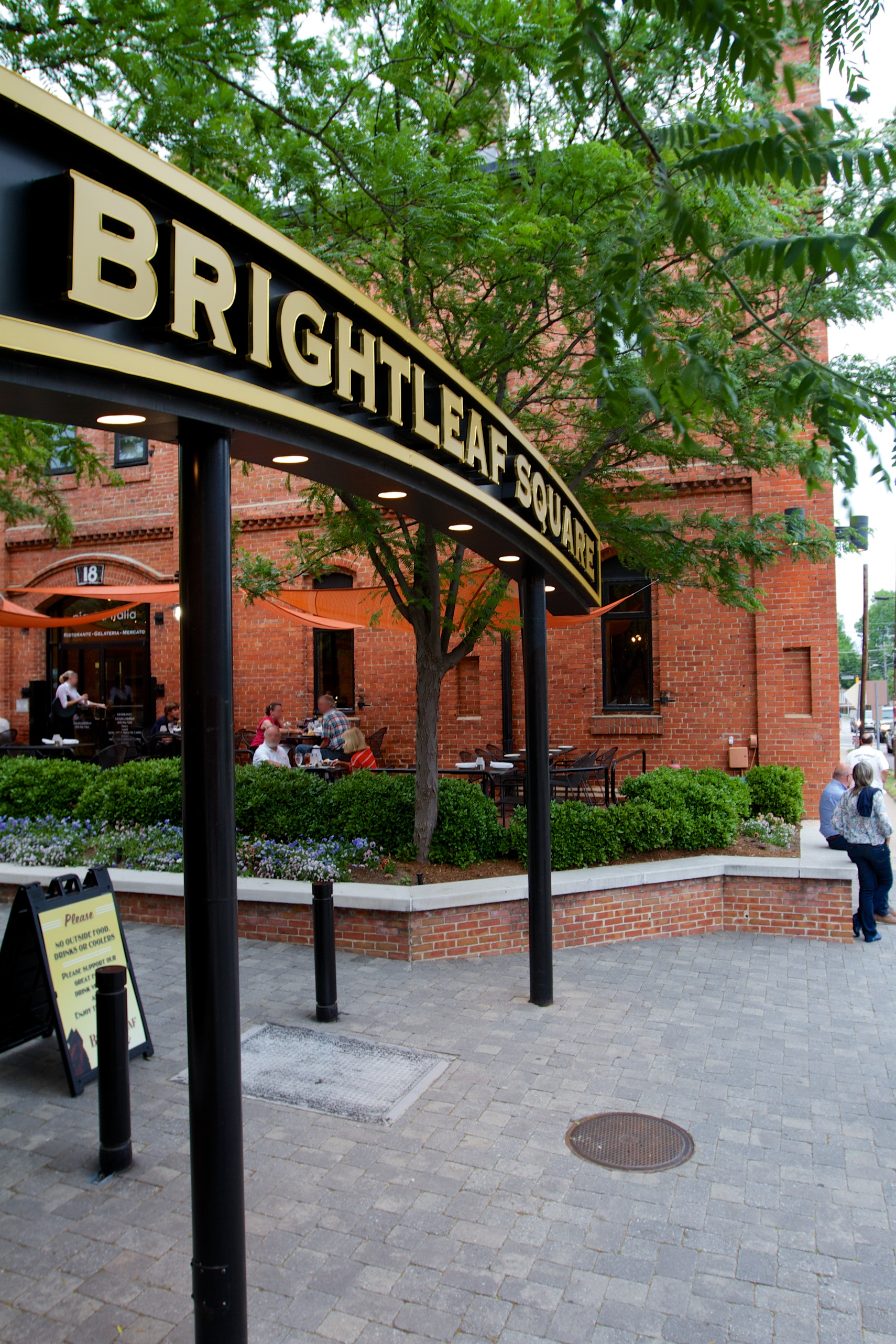 Brightleaf Courtyard